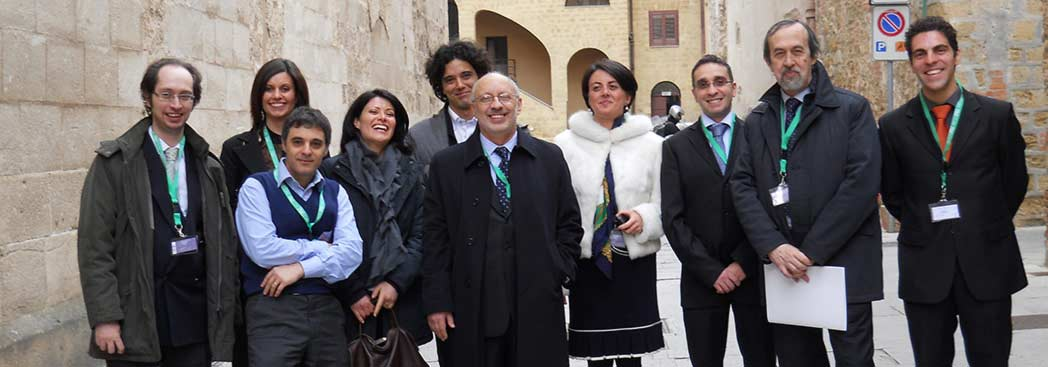 The research team at the University of Palermo